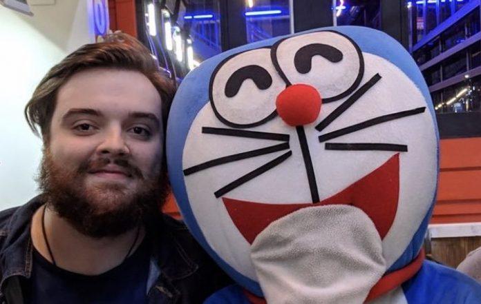 Ibai con Doraemon 2020