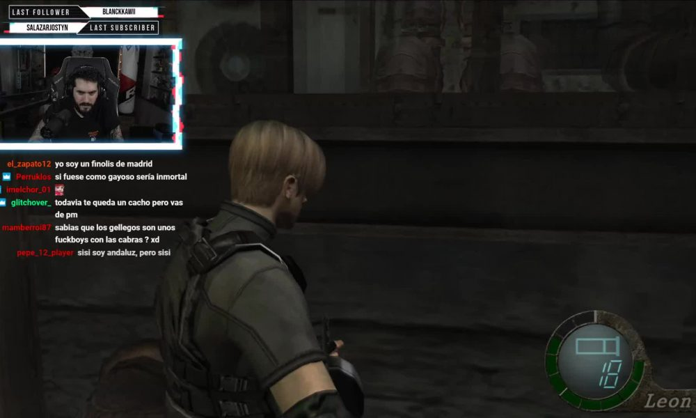 twitch.tv RESIDENT EVIL 4 ep.5 Wismichu 2020